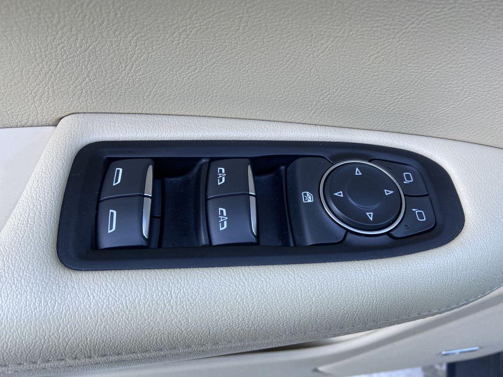 Black[Manhattan Noir Metallic] 2019 Cadillac XT5  Driver's Side Door Controls Photo in Calgary AB