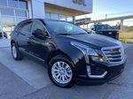 Black[Manhattan Noir Metallic] 2019 Cadillac XT5 Right Front Corner Photo in Calgary AB