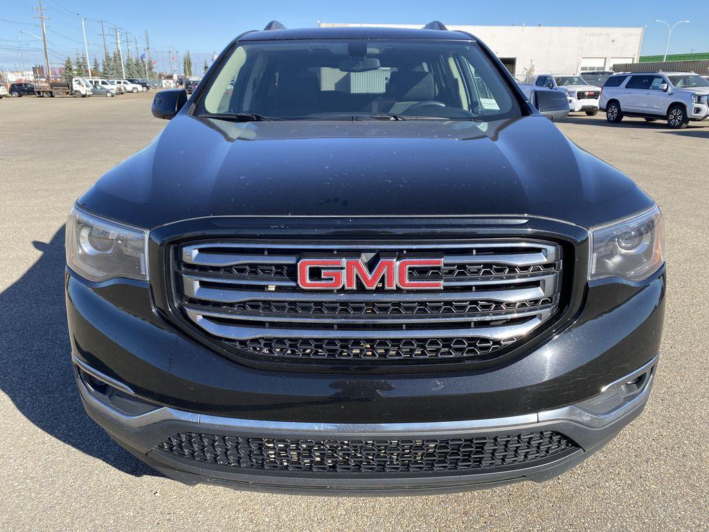Black[Ebony Twilight Metallic] 2017 GMC Acadia Front Vehicle Photo in Edmonton AB