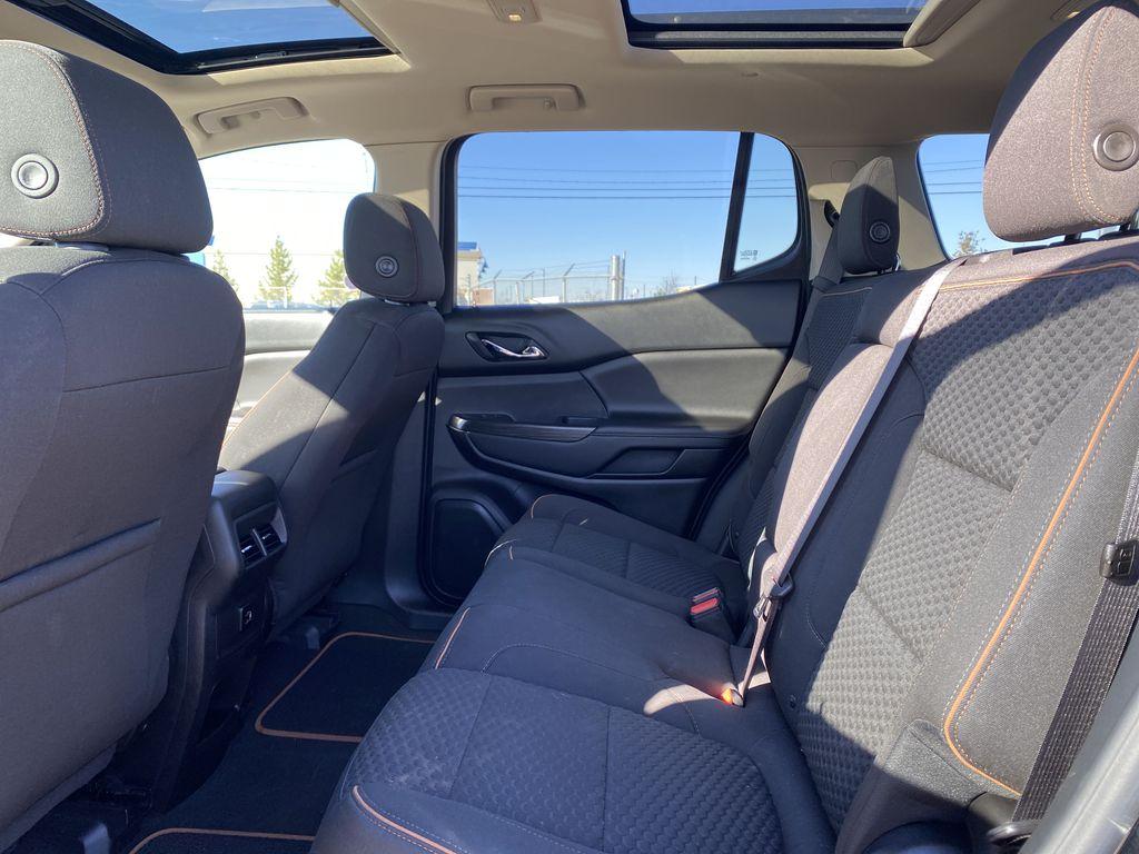 Black[Ebony Twilight Metallic] 2017 GMC Acadia Left Side Rear Seat  Photo in Edmonton AB