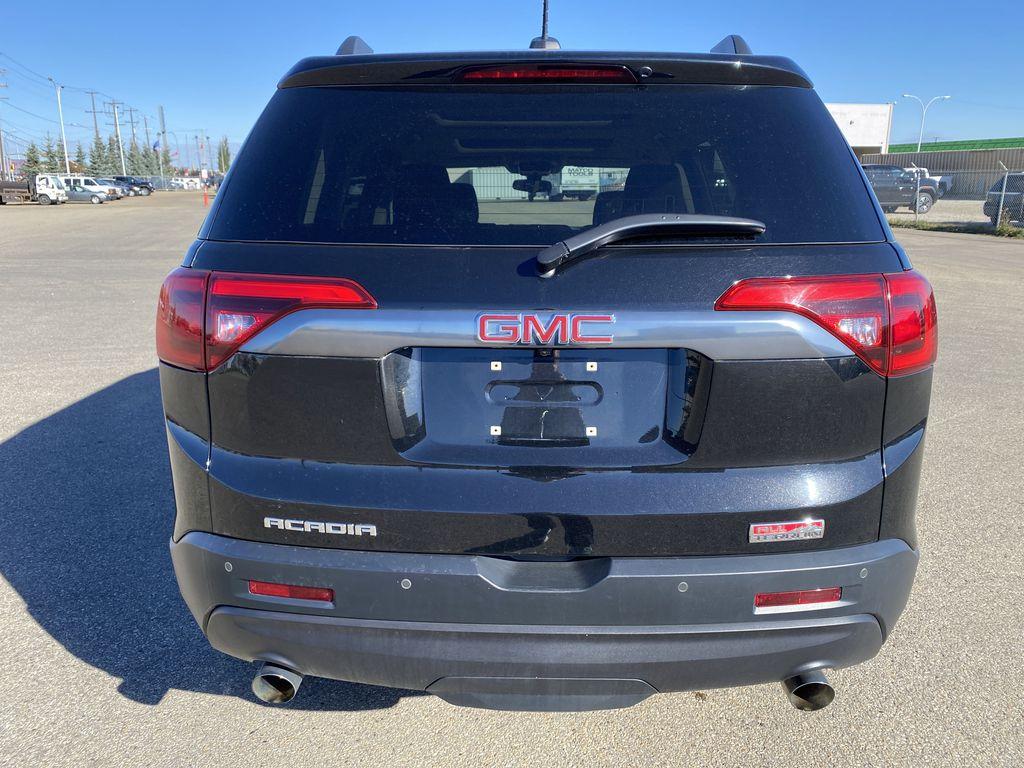 Black[Ebony Twilight Metallic] 2017 GMC Acadia Rear of Vehicle Photo in Edmonton AB