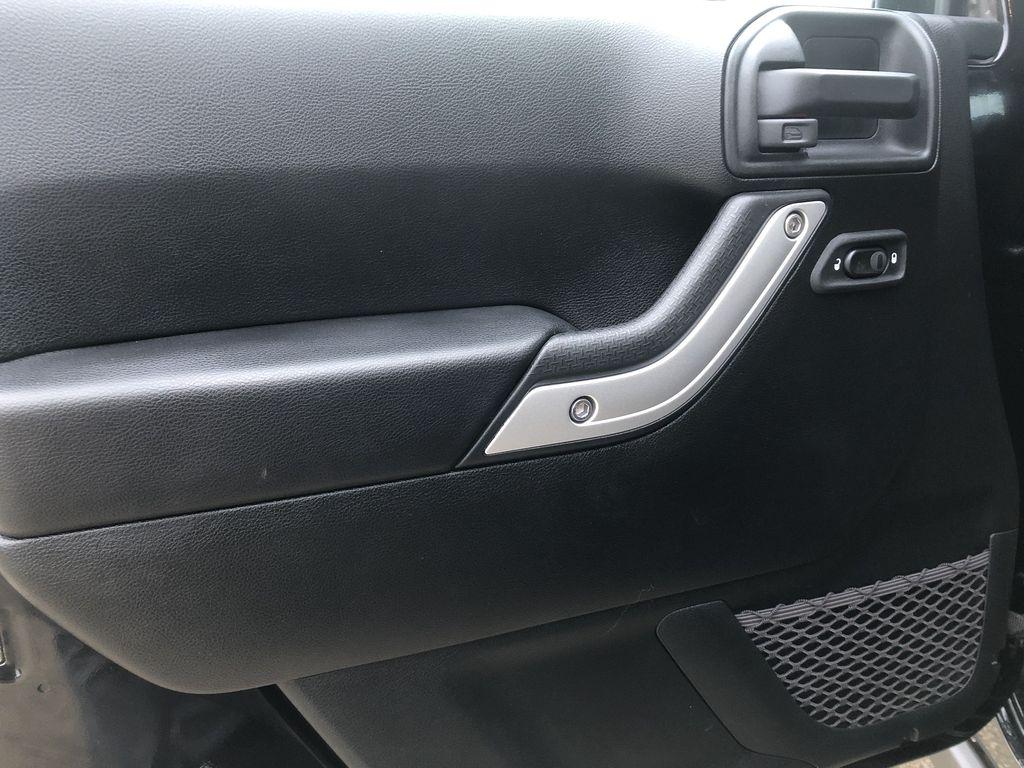 Black[Black] 2018 Jeep Wrangler JK Left Front Interior Door Panel Photo in Edmonton AB