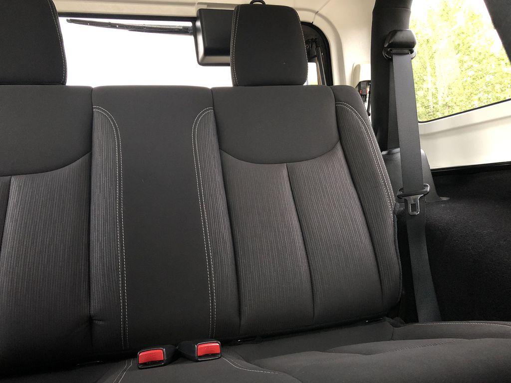 Black[Black] 2018 Jeep Wrangler JK Left Side Rear Seat  Photo in Edmonton AB