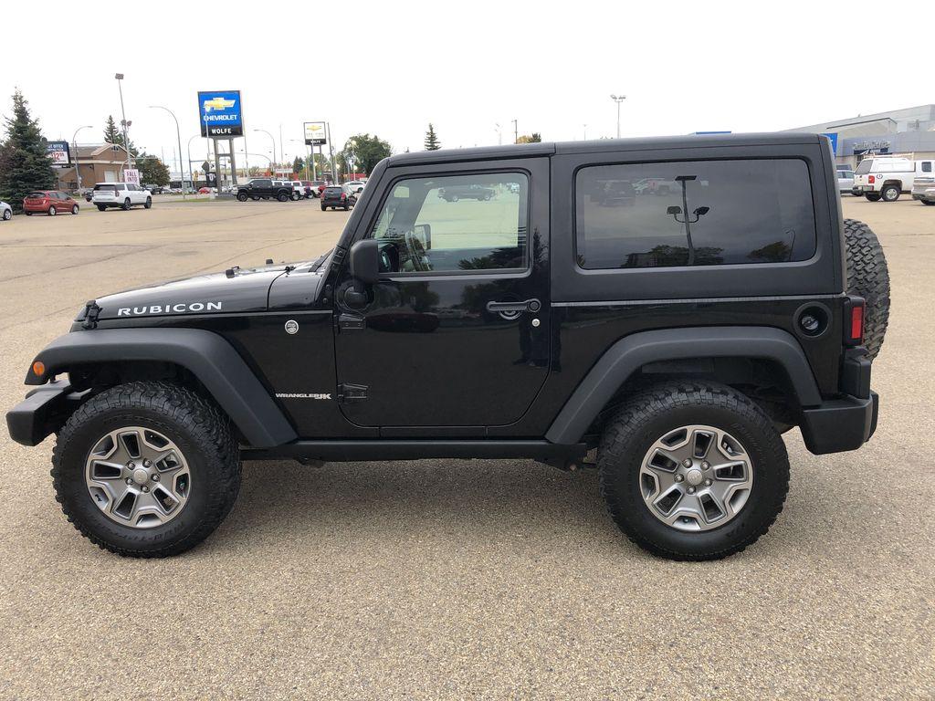 Black[Black] 2018 Jeep Wrangler JK Left Side Photo in Edmonton AB