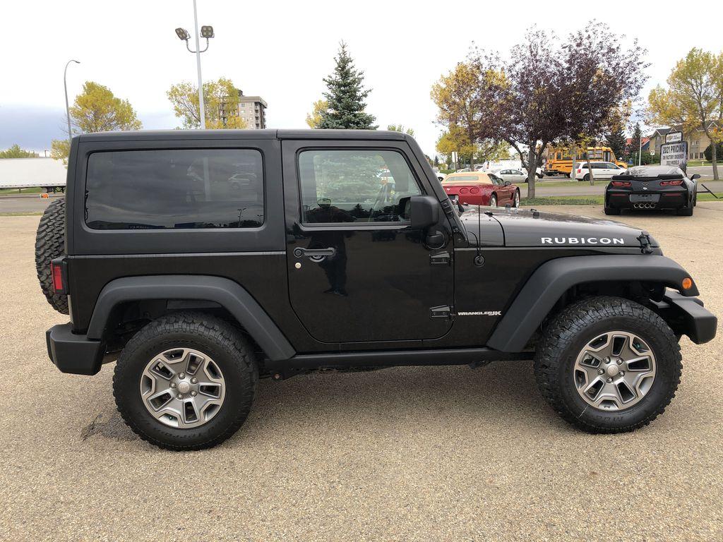 Black[Black] 2018 Jeep Wrangler JK Right Side Photo in Edmonton AB