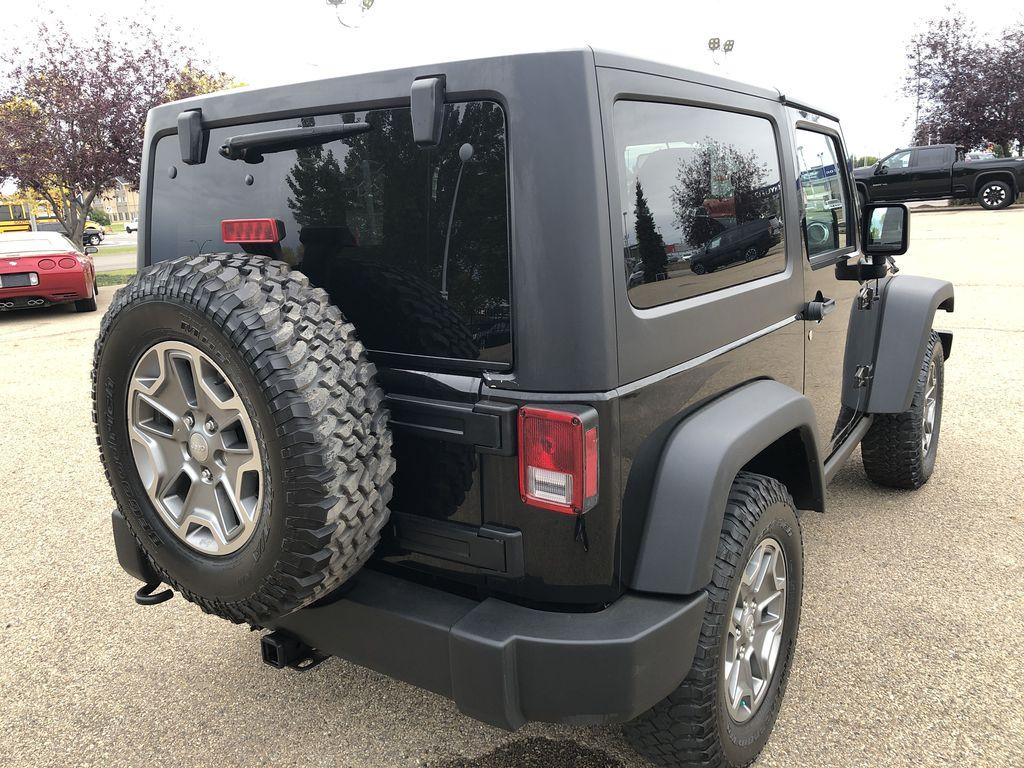 Black[Black] 2018 Jeep Wrangler JK Right Rear Corner Photo in Edmonton AB
