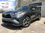 Gray[Magnetic Grey Metallic] 2021 Toyota Highlander AWD XLE Package GZRBHT AM Primary Photo in Brampton ON