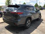 Gray[Magnetic Grey Metallic] 2021 Toyota Highlander AWD XLE Package GZRBHT AM Sunroof Photo in Brampton ON
