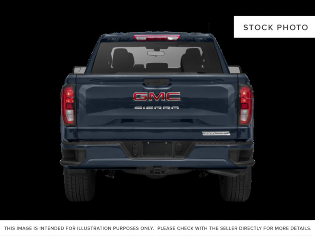 Red[Cayenne Red Tintcoat] 2021 GMC Sierra 1500 Rear of Vehicle Photo in Edmonton AB
