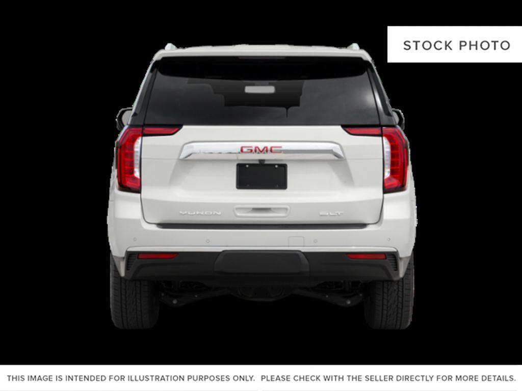 Black[Onyx Black] 2021 GMC Yukon Rear of Vehicle Photo in Edmonton AB