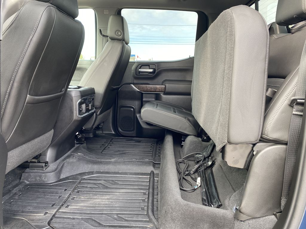 Blue[Pacific Blue Metallic] 2019 GMC Sierra 1500 Rear Seat: Cargo/Storage Photo in Edmonton AB