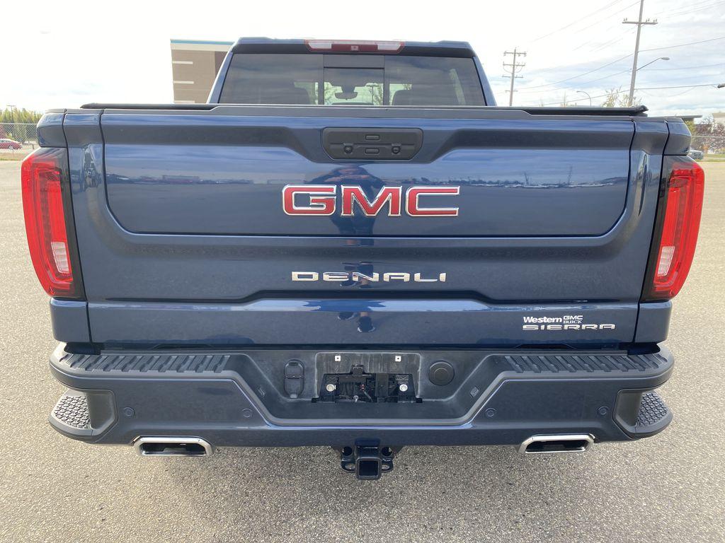 Blue[Pacific Blue Metallic] 2019 GMC Sierra 1500 Rear of Vehicle Photo in Edmonton AB
