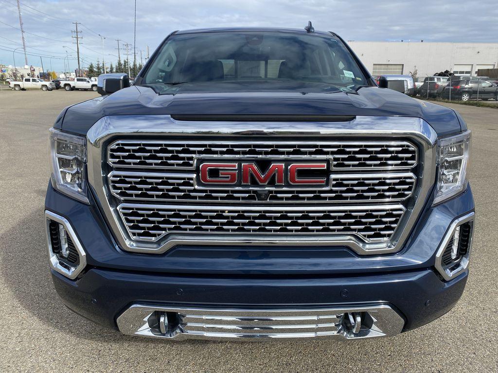 Blue[Pacific Blue Metallic] 2019 GMC Sierra 1500 Front Vehicle Photo in Edmonton AB