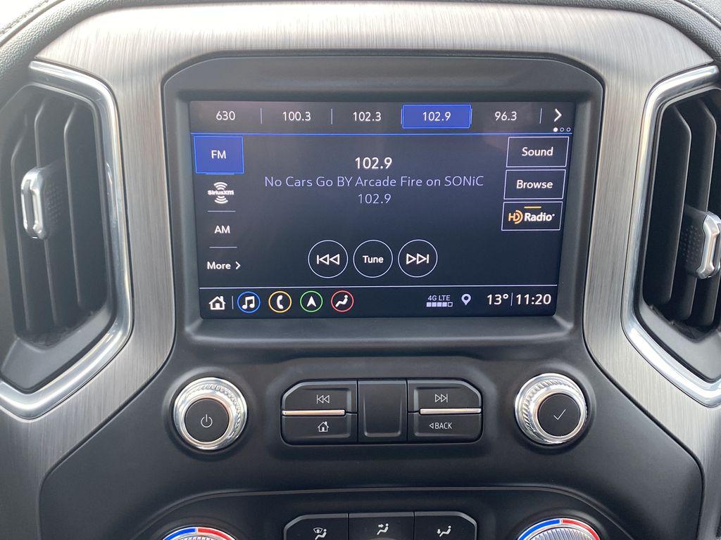 Blue[Pacific Blue Metallic] 2019 GMC Sierra 1500 Radio Controls Closeup Photo in Edmonton AB