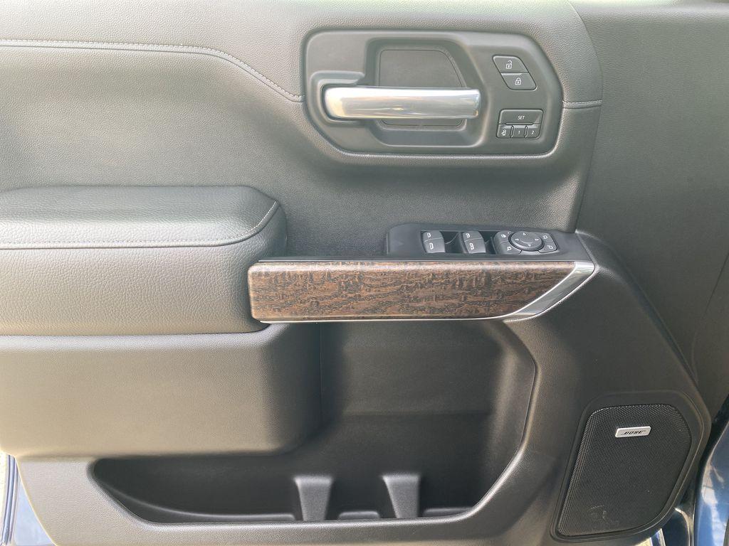 Blue[Pacific Blue Metallic] 2019 GMC Sierra 1500 Left Front Interior Door Panel Photo in Edmonton AB
