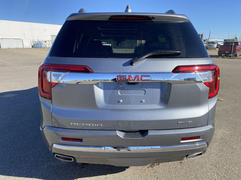 Gray[Satin Steel Metallic] 2022 GMC Acadia Rear of Vehicle Photo in Edmonton AB