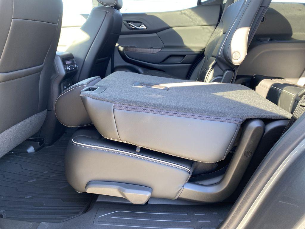 Gray[Satin Steel Metallic] 2022 GMC Acadia Rear Seat: Cargo/Storage Photo in Edmonton AB