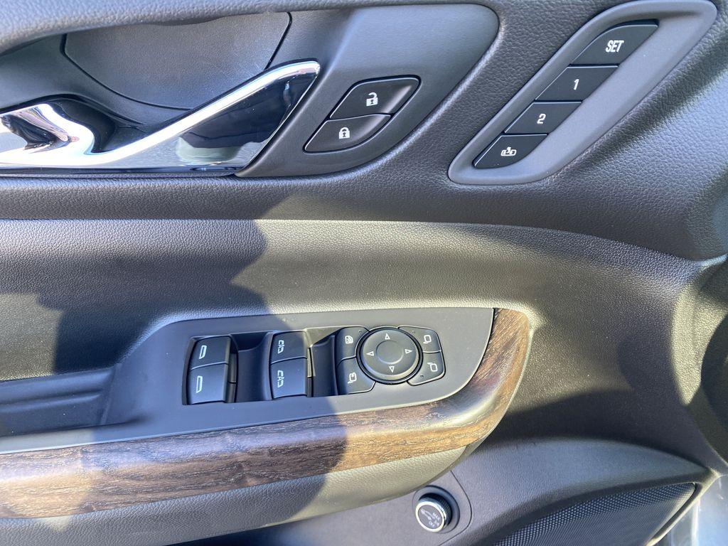 Gray[Satin Steel Metallic] 2022 GMC Acadia  Driver's Side Door Controls Photo in Edmonton AB