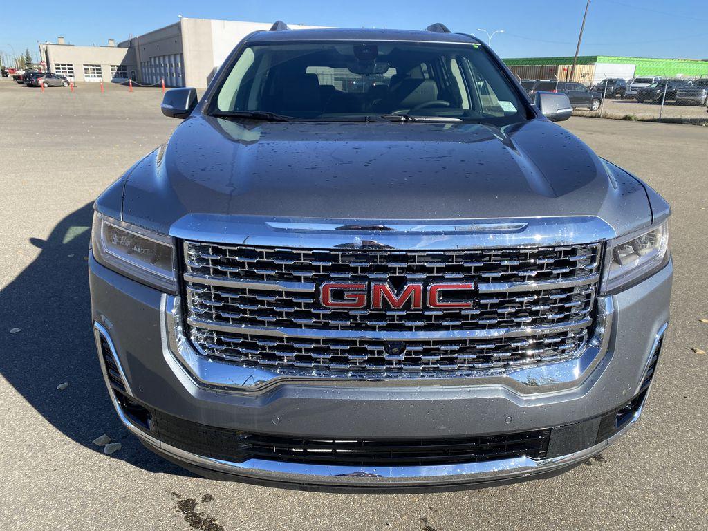 Gray[Satin Steel Metallic] 2022 GMC Acadia Front Vehicle Photo in Edmonton AB