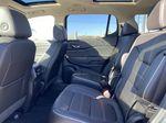 Gray[Satin Steel Metallic] 2022 GMC Acadia Left Side Rear Seat  Photo in Edmonton AB