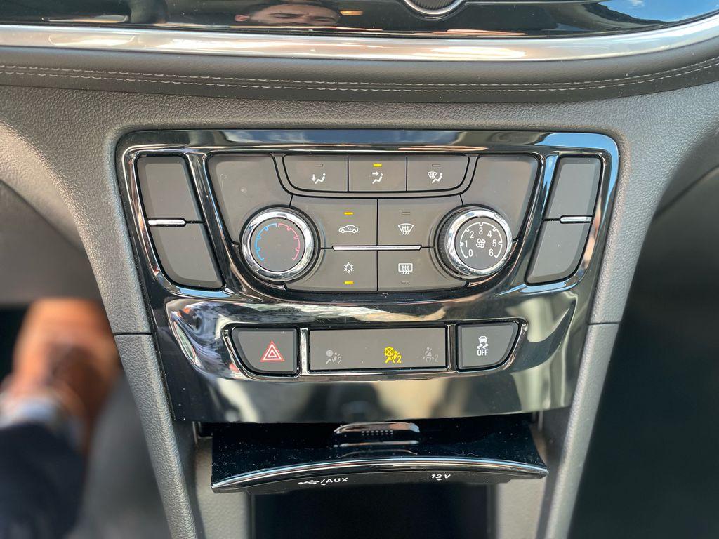 SATIN STEEL 2019 Buick Encore Navigation Screen Closeup Photo in Oshawa ON