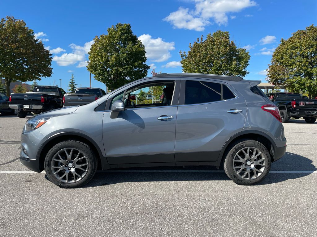 SATIN STEEL 2019 Buick Encore Left Front Rim and Tire Photo in Oshawa ON