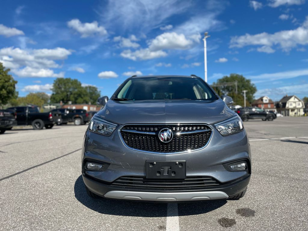 SATIN STEEL 2019 Buick Encore Right Front Corner Photo in Oshawa ON