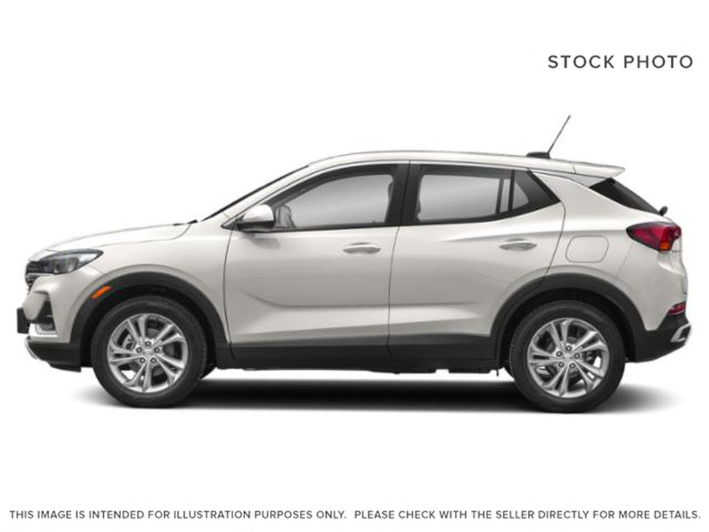 White[White Frost Tricoat] 2022 Buick Encore GX Left Side Photo in Medicine Hat AB