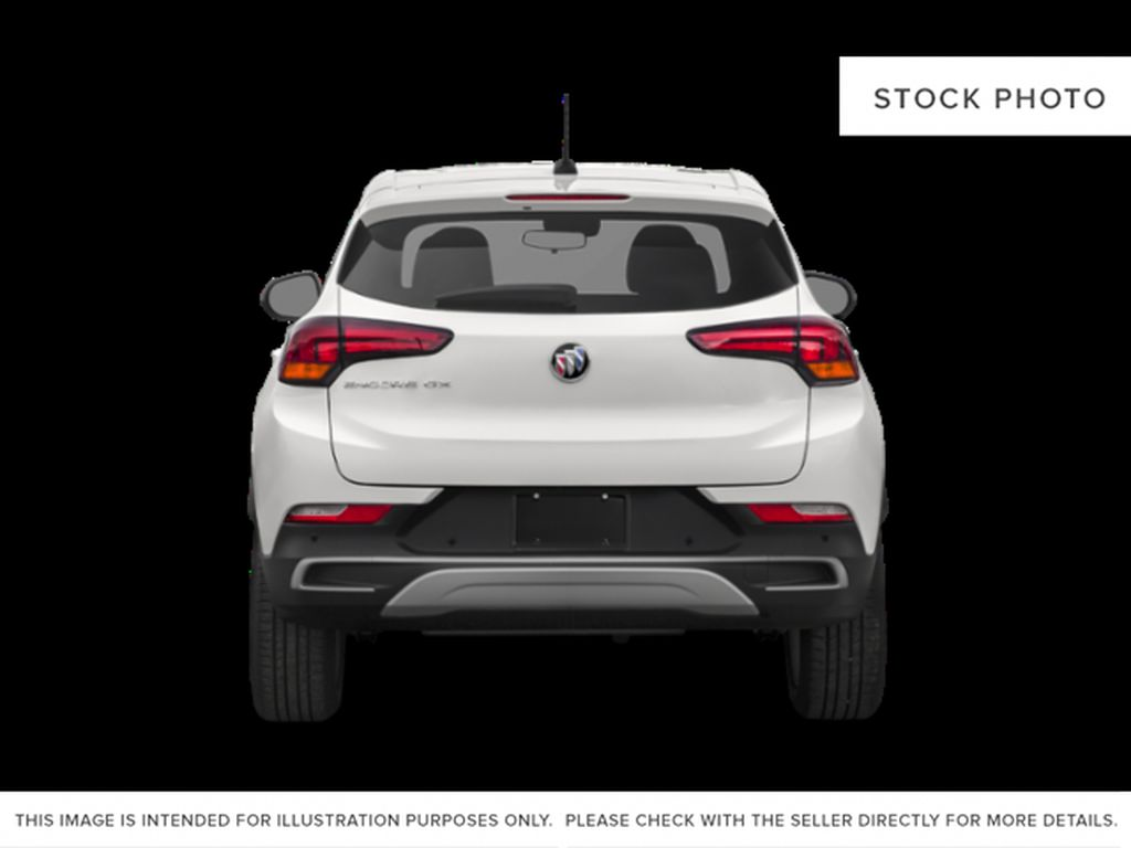 White[White Frost Tricoat] 2022 Buick Encore GX Rear of Vehicle Photo in Medicine Hat AB