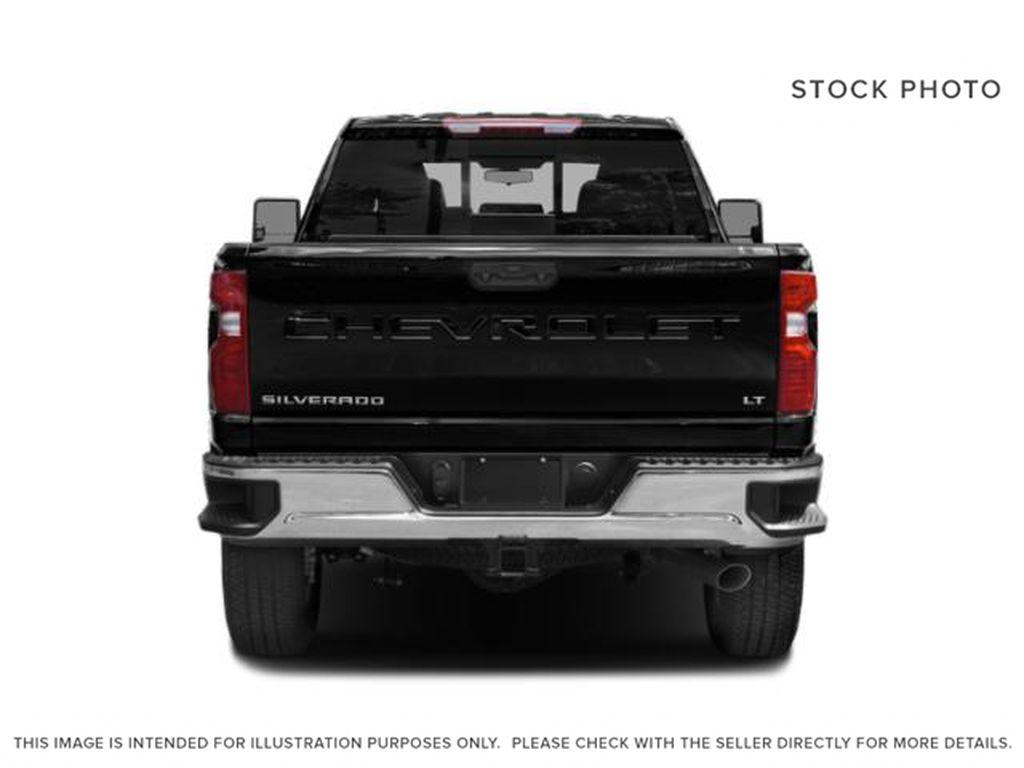 Black[Black] 2021 Chevrolet Silverado 2500HD Rear of Vehicle Photo in Fort Macleod AB