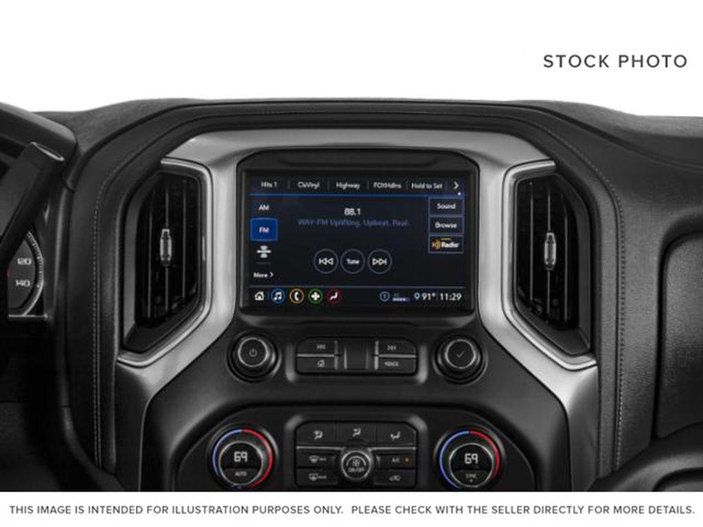 Black[Black] 2021 Chevrolet Silverado 2500HD Radio Controls Closeup Photo in Fort Macleod AB