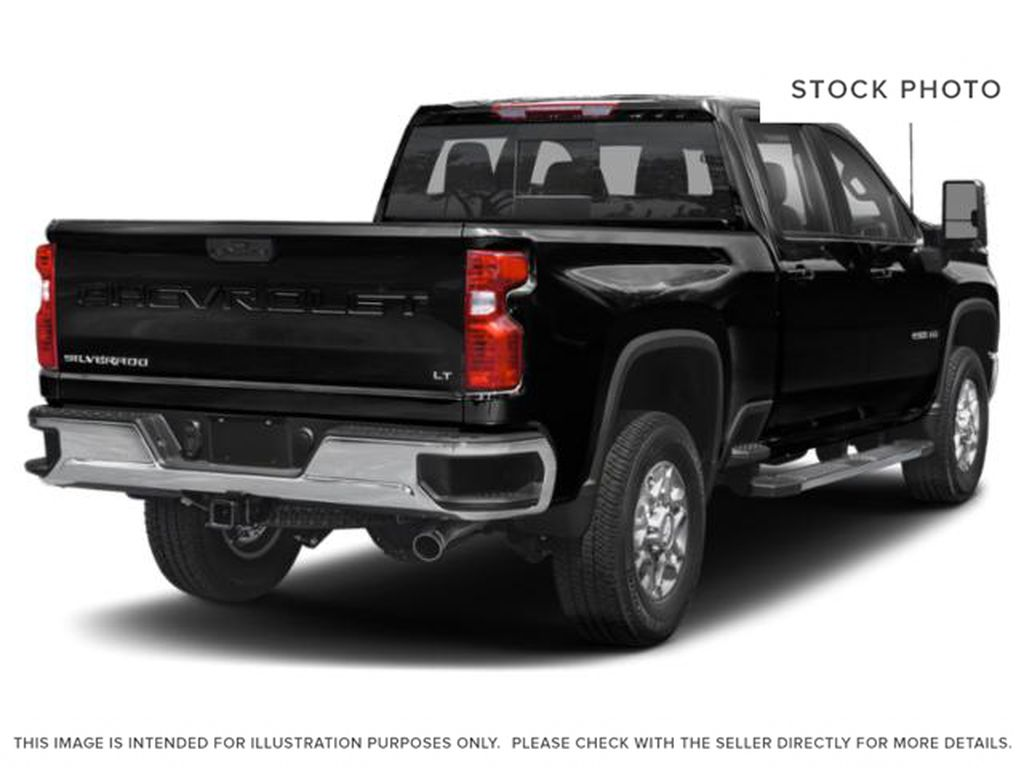 Black[Black] 2021 Chevrolet Silverado 2500HD Right Rear Corner Photo in Fort Macleod AB