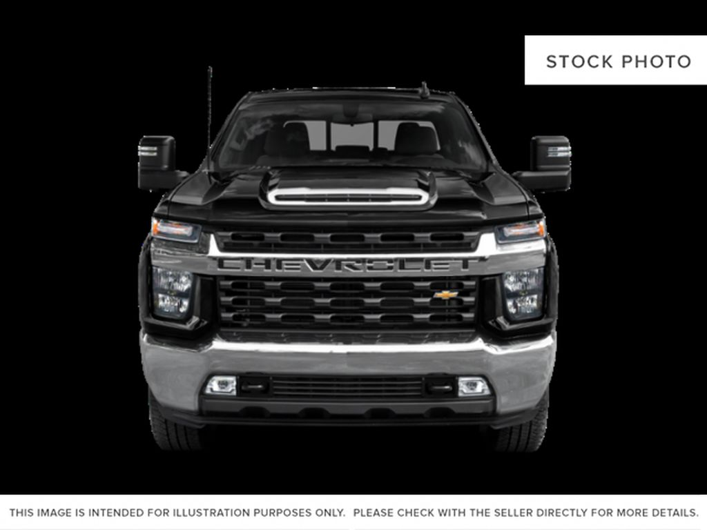 Black[Black] 2021 Chevrolet Silverado 2500HD Front Vehicle Photo in Fort Macleod AB
