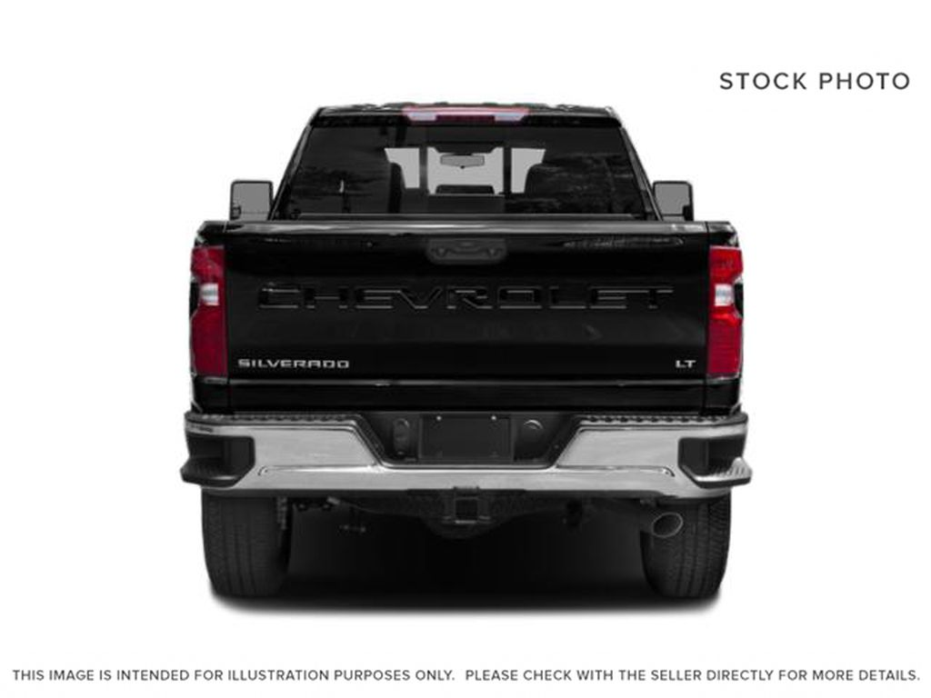 Silver[Silver Ice Metallic] 2020 Chevrolet Silverado 2500HD Rear of Vehicle Photo in Fort Macleod AB