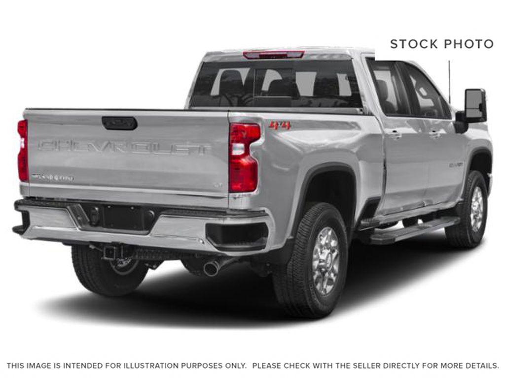 Silver[Silver Ice Metallic] 2020 Chevrolet Silverado 2500HD Right Rear Corner Photo in Fort Macleod AB