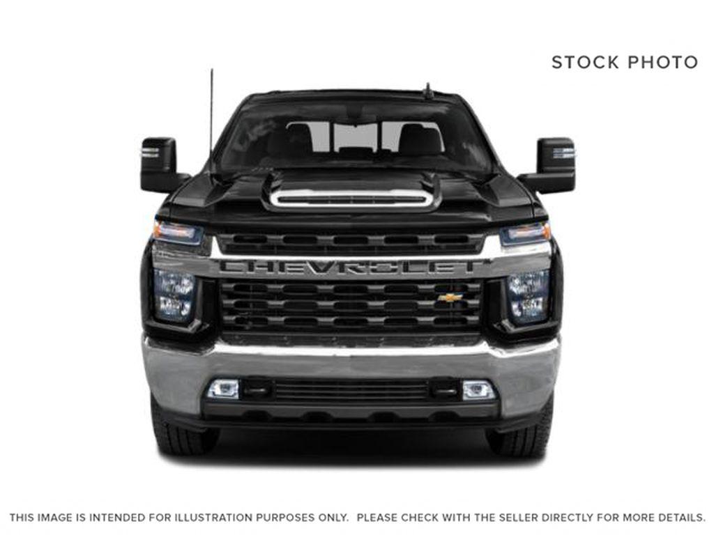 Silver[Silver Ice Metallic] 2020 Chevrolet Silverado 2500HD Front Vehicle Photo in Fort Macleod AB