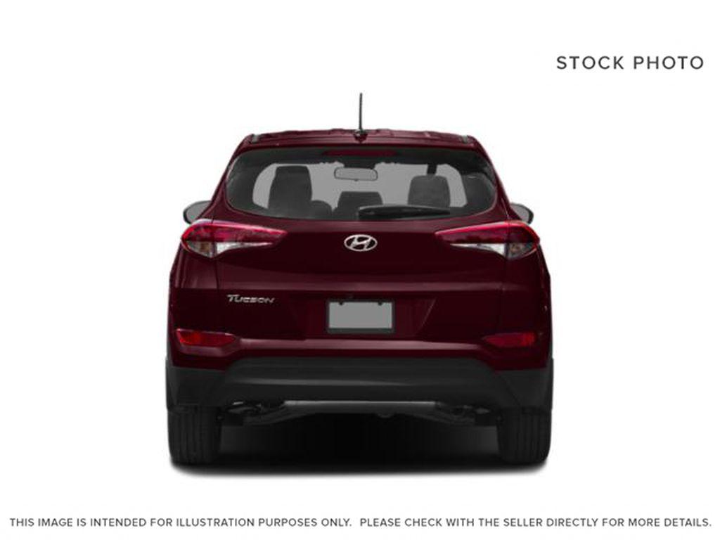 White[Winter White] 2018 Hyundai Tucson Rear of Vehicle Photo in Ottawa ON