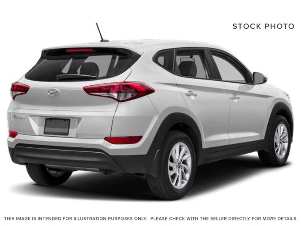 White[Winter White] 2018 Hyundai Tucson Right Rear Corner Photo in Ottawa ON