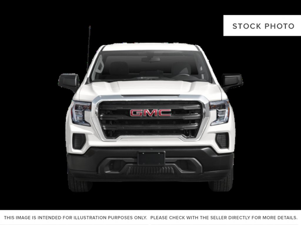 White[Summit White] 2021 GMC Sierra 1500 Front Vehicle Photo in Calgary AB