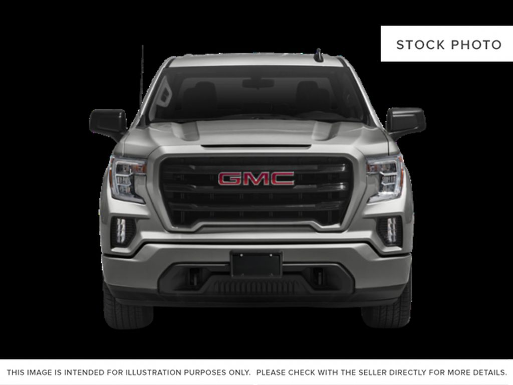 Blue[Pacific Blue Metallic] 2021 GMC Sierra 1500 Elevation Front Vehicle Photo in Calgary AB