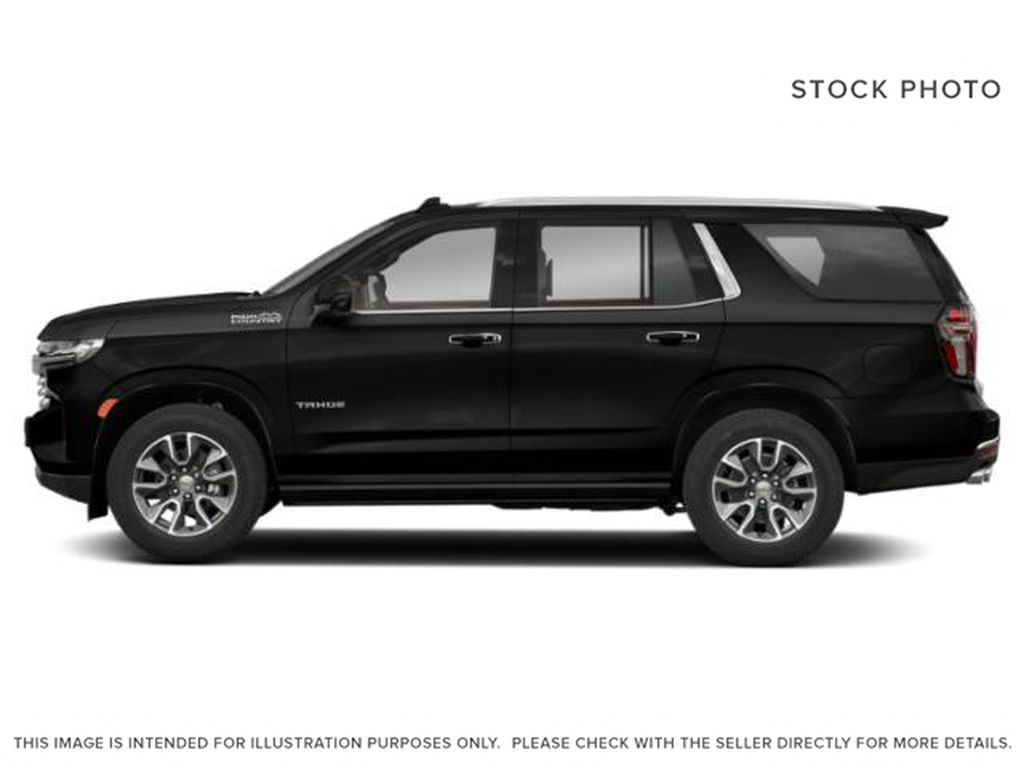 Black[Black] 2021 Chevrolet Tahoe High Country Left Side Photo in Calgary AB