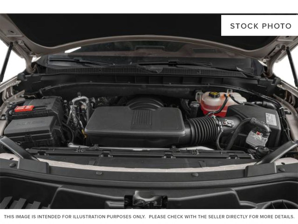 Black[Black] 2021 Chevrolet Tahoe High Country Engine Compartment Photo in Calgary AB
