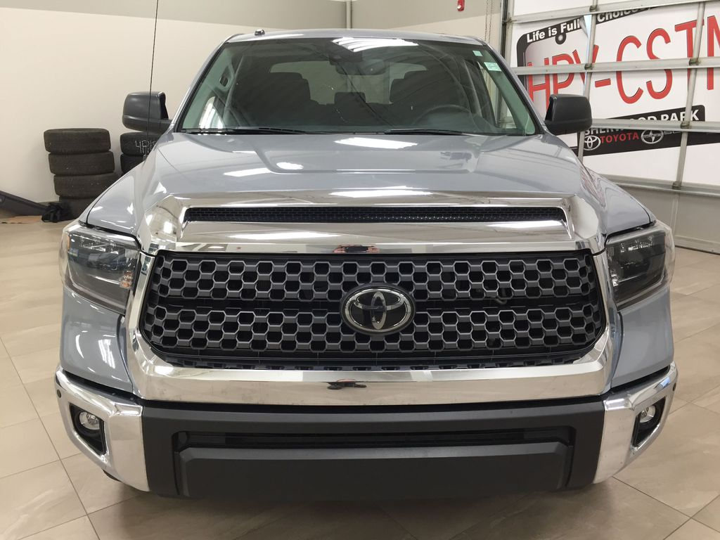 Gray[Cement Gray] 2019 Toyota Tundra 4WD TRD OFF-ROAD / CEMENT GREY RARE COLOR Front Vehicle Photo in Sherwood Park AB