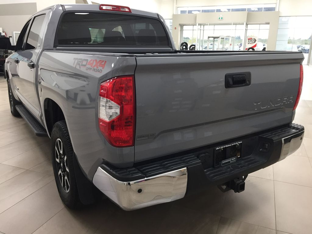Gray[Cement Gray] 2019 Toyota Tundra 4WD TRD OFF-ROAD / CEMENT GREY RARE COLOR Left Rear Corner Photo in Sherwood Park AB