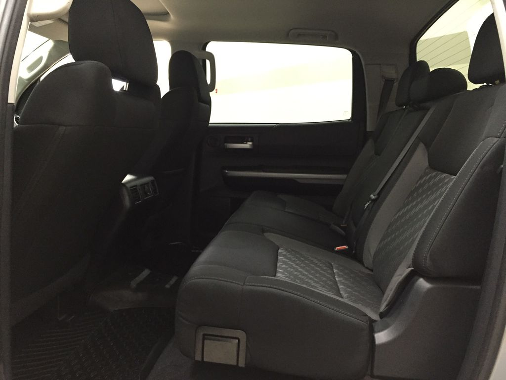 Gray[Cement Gray] 2019 Toyota Tundra 4WD TRD OFF-ROAD / CEMENT GREY RARE COLOR Left Side Rear Seat  Photo in Sherwood Park AB