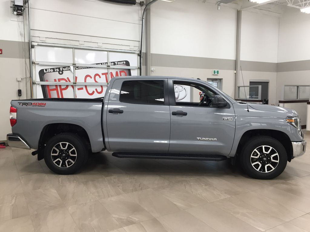 Gray[Cement Gray] 2019 Toyota Tundra 4WD TRD OFF-ROAD / CEMENT GREY RARE COLOR Right Side Photo in Sherwood Park AB
