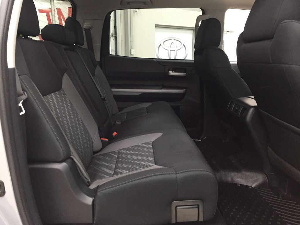 Gray[Cement Gray] 2019 Toyota Tundra 4WD TRD OFF-ROAD / CEMENT GREY RARE COLOR Right Side Rear Seat  Photo in Sherwood Park AB