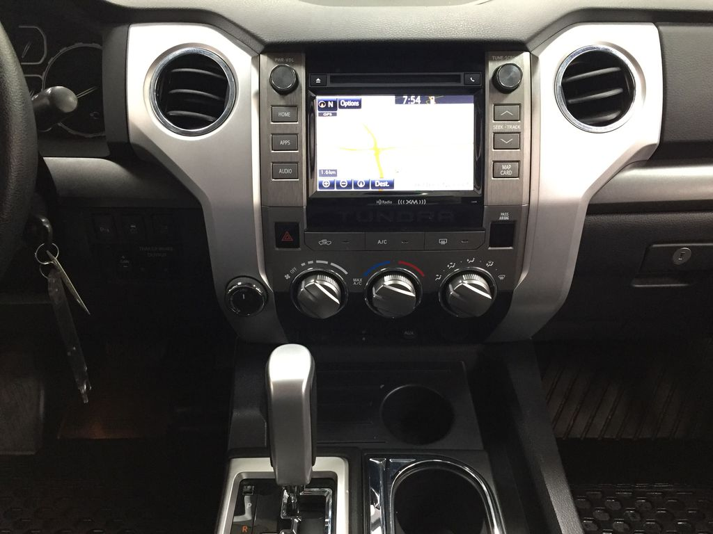 Gray[Cement Gray] 2019 Toyota Tundra 4WD TRD OFF-ROAD / CEMENT GREY RARE COLOR Central Dash Options Photo in Sherwood Park AB