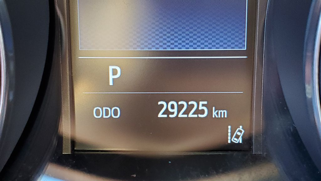 White[Blizzard Pearl with Black Roof] 2019 Toyota C-HR Odometer Photo in Kelowna BC
