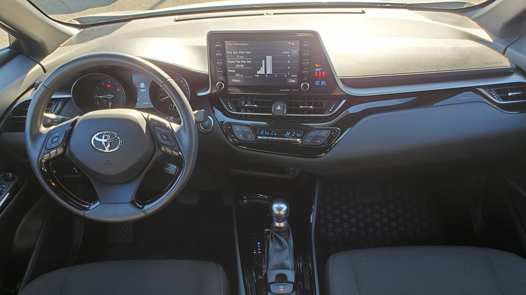 White[Blizzard Pearl with Black Roof] 2019 Toyota C-HR Main Interior Photo in Kelowna BC